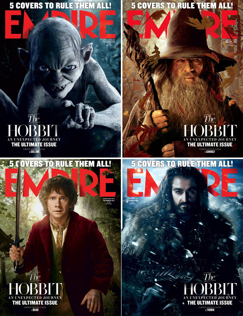 The Hobbit Empire covers