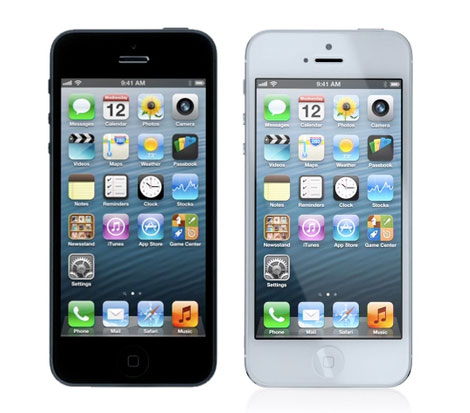 The New Apple iPhone5 looks like this