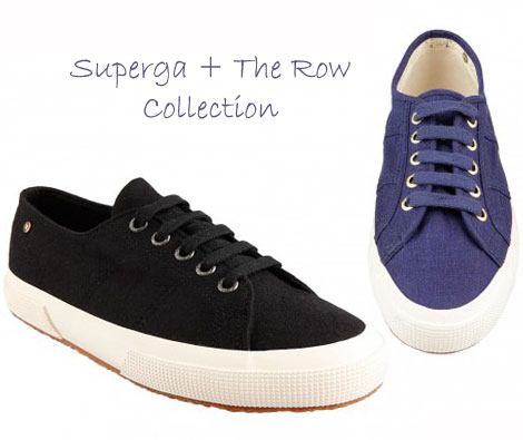 Ashley & Mary Kate Olsen The Row Superga Sneakers