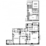 Thierry Mugler penthouse plan