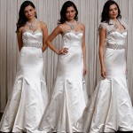 Three wedding dresses in one Badgley Mischka Laura dress
