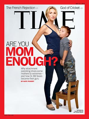 Time magazine breastfeeding controversial cover