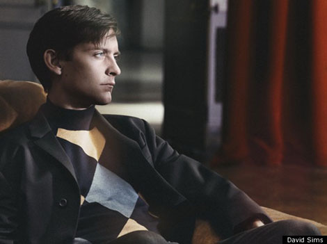 Tobey Maguire Prada fw 2011 2012 ad campaign photographed by David Sims