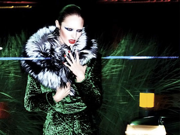 Candice Swanepoel's Tom Ford Fall Winter 2011 2012 Ad Campaign