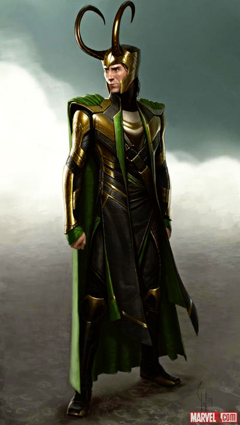 Tom Hiddleston s Loki suit from The Avengers