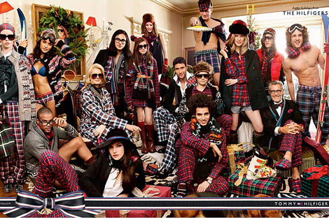 Most Fashionable Christmas Party: Tommy Hilfiger Holiday 2011 Campaign