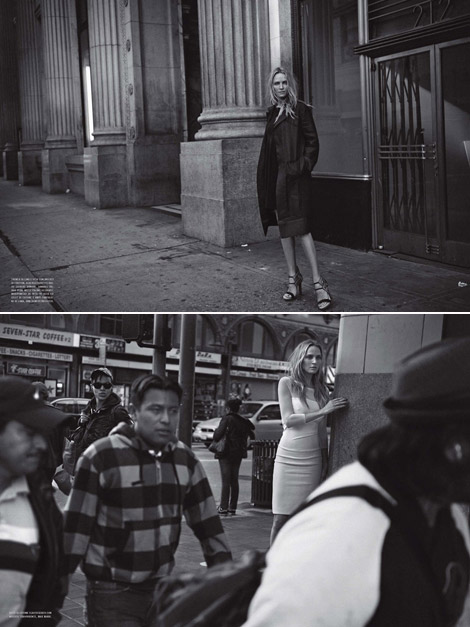 Uma Thurman Looks Sad In Vogue Italia February 2012