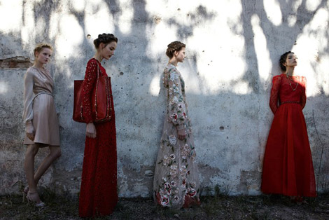 Valentino Spring Summer 2012 Ad Campaign