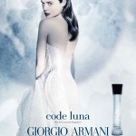 Valeria Bilello Giorgio Armani Perfume Code Luna Ad Campaign