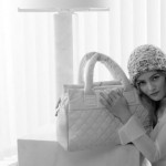 Vanessa Paradis Chanel Cocoon bags collection ad campaign