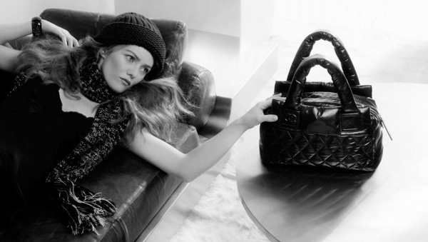 Vanessa Paradis Chanel Cocoon collection ad campaign 3