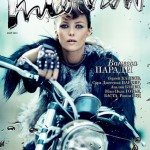 Vanessa Paradis biker chic Interview Russia May 2012 cover