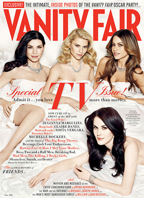 Vanity Fair TV Issue 2012 cover