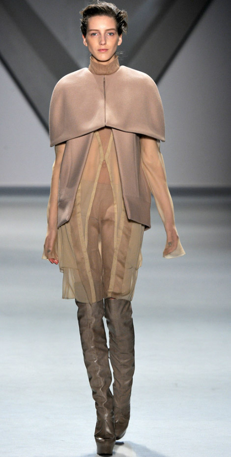Vera Wang Fall Winter 2012 2013 sheer