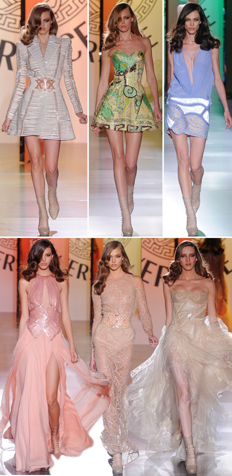 Versace Haute Couture Fall 2012 collection