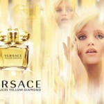 Versace perfume campaign Abbey Lee
