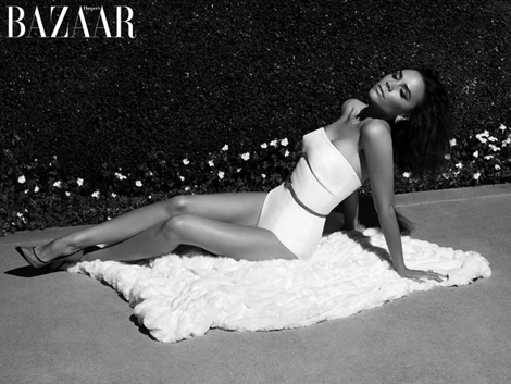 Victoria Beckham's Harper's Bazaar UK May 2012