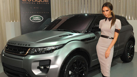 Would You Buy Victoria Beckham's Range Rover Evoque?