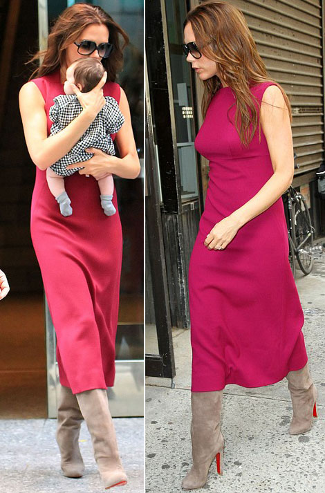 Victoria Beckham S Post 4th Baby Body Stylefrizz