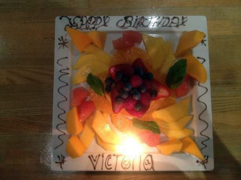 The Skinny Brithday Cake: Happy Birthday Victoria Beckham!