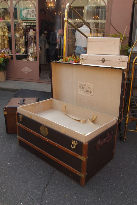 Have A LV Trunk For Coffe Table!