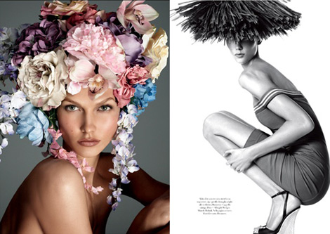 Karlie Kloss's Grown Up Amazing Body In Vogue Italy December 2011