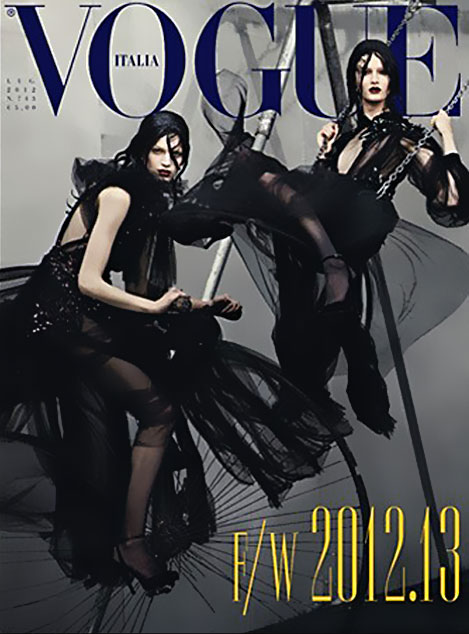 Vogue Italia July 2012 cover