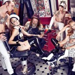 Vogue Nederland first issue April 2012 tattoo