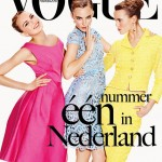 Vogue Nederland first issue cover April 2012