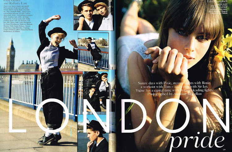 Vogue UK June 2012 Edie Campbell