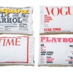 Vogue magazine cover pillowcase