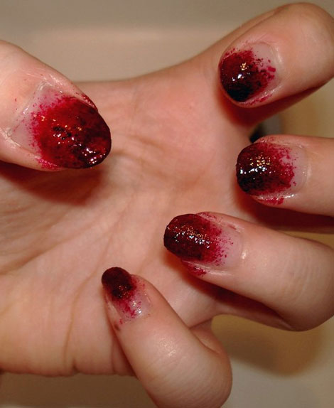 Walking Dead Nails For Halloween