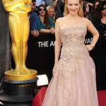Wendi McLendon Covey 2012 Oscars Red Carpet dress