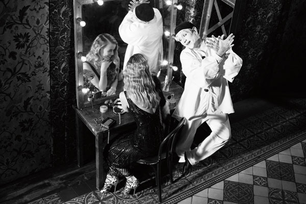 Whats in a Mime Harpers Bazaar story by Michel Hazanavicius