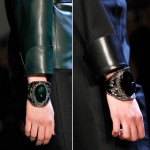 Yves Saint Laurent fall 2012 cuffs