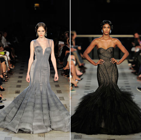 Zac Posen evening gowns