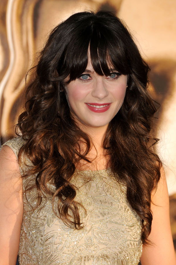 Zooey Deschanel lady like dress Red Carpet