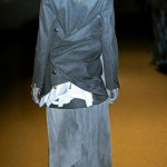 A F Vandevorst Fall Winter 2011 2012 collection Simona Andrejic back