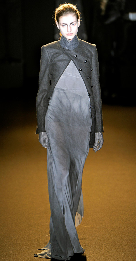 A F Vandevorst Fall Winter 2011 2012 collection Simona Andrejic