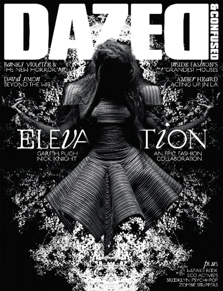Abbey Lee Kershaw in Dazed and Confused october 2008 cover