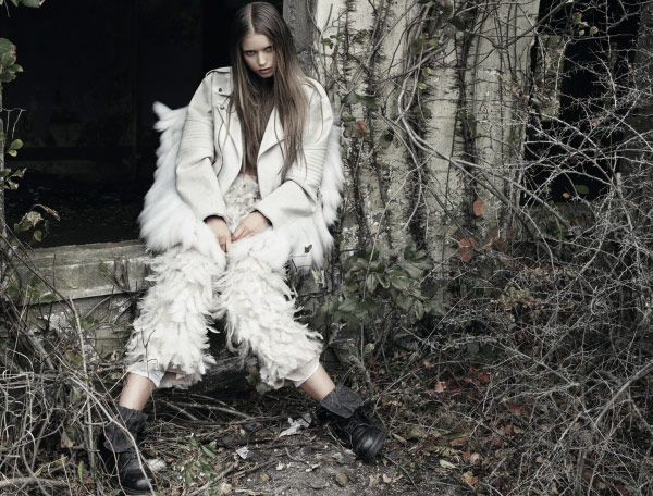 Abbey Lee Kershaw Dazed and Confused December 2009 3