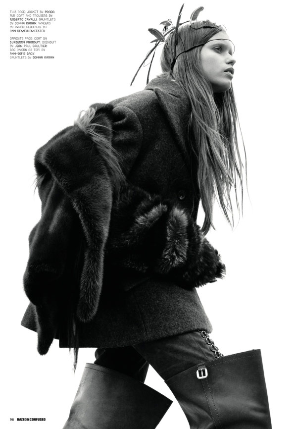 Abbey Lee Kershaw Dazed and Confused December 2009 4