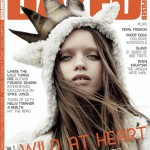 Abbey Lee Kershaw Dazed and Confused December 2009 cover
