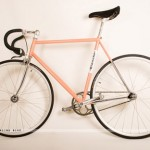 Acne Bianchi racing bicycle pink
