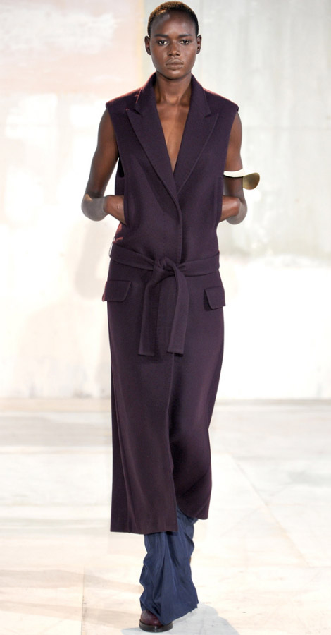 Acne Fall Winter 2011 2012 Ajak Deng