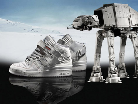 adidas star wars sneakers ad campaign