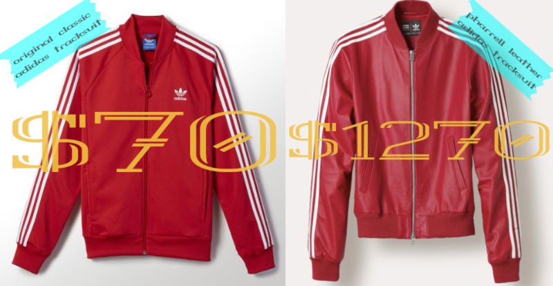 adidas tracksuit original vs pharrell