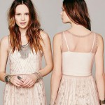 affordable party sequined short dress cream see through