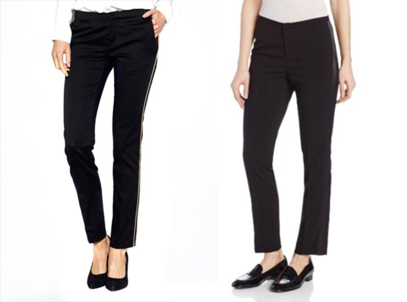 affordable women tux pants