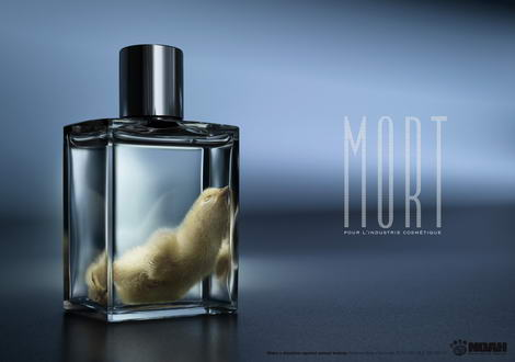 Against Animal Testing ad prints 2